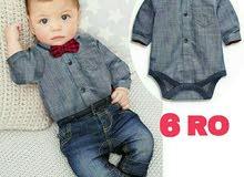 ملابس أطفال مميزه وجميله(القميص +البنطلون)