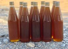 للبيع عسل سدر  تربية مناحل طبيعه  ومرعى جبال  طبيعي 100%
