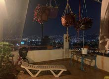 Furnished Rooftop with open sea View And mountain View fully renovated