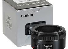 Canon Lens 50mm 1.8F - STM