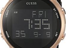 New Guess watch black ساعة جس جديدة