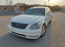 للبيع : لكزس Ls430  موديل : 2006 اللون الخارجي : ابيض  اللون الداخلي : بيج