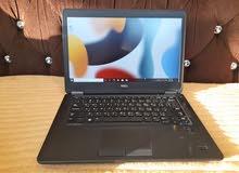 لابتوب ديل بحالة ممتازة وسريع جدا Dell Laptop i5 with 256SSD & 16GB Ram