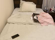 سرير عدد 2 مع فرش عدد2