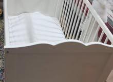 سرير بيبي و اسرة اطفال و مرتبة مجوزة للبيع
