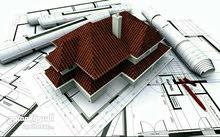 تصميم كافة المخططات الهندسية و تنفيذها و صيانة و بناء كافة انواع المباني