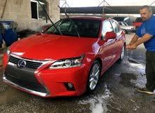 Red Lexus CT 2016 for sale