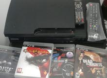 PS 3 with 4 dvd games