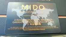ساعة ميدو MIDO سويسري اصليه اوتوماتيك مكفولة لدى الوكيل.