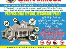 Pest Control Services (Odourless)
