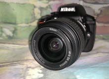 كاميرا نيكون الإصدار الجديد D5300 بحالة ممتازة جدا