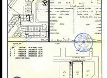 ارض 200م للبيع - مباشره العامرات النهضه 7سكني تجاري ع شارعين