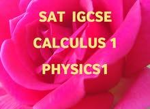 مدرس خصوصي رياضيات و فيزياء مناهج أردنية و SATand IGCSE