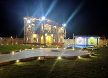 قصر للبيع بالريف الأوروبي  الشيخ زايد