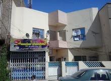 بيت للايجار طابقين شارع تجاري فرعي الطوبجي