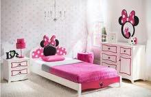 غرفة نوم اطفال تفصيل حسب الطلب مو تجاري