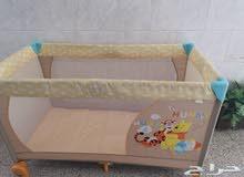 2 سرير نوم للاطفال مستعمله نظيفه