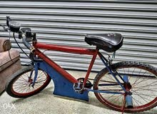 دراجة مزودة