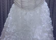 فستان عروس أبيض موديل 2018 للبيع