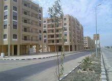 شقة على الشارع الرئيسي مباشرة في عمارات الأوقاف بمدينة بدر