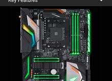 GIGABYTE AORUS X470 Gaming 7+amd 2700x+64gb ram