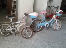 للبيع دراجتين في حالة جيدة 17 دينار مع التوصيل