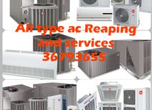 all type ac Reaping and services