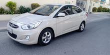 Hyundai accent model 2016 (mid option Bahrain agent Car)