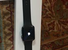 ساعة ابل Iwatch series 3 مع حزام اضافي كروم مطلي للبيع