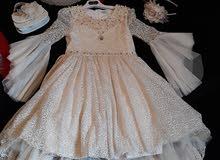 فستان سهرة بناتي . لعمر 13 سنة