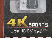 كاميرا رياضية 4K