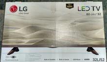 شاشة تلفزيون 32 بوصة LG .. جديدة ببرشمة المصنع و الضمان كامل