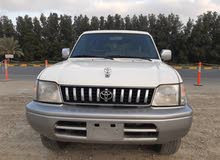 تويوتا برادو موديل 1998 بحالة ممتازة  Toyota Prado 1998 in excellent condition