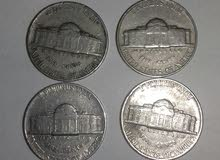 عملات أمريكية قديمة