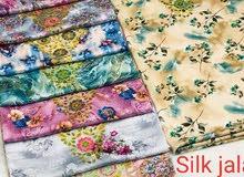 jalabiya silk and cotton