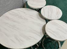 طاولات رخام عدد 5