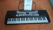 Mike Music ELECTRONIC KEYBOARD 54 KEYS MK 4300 (MK-4300, black)