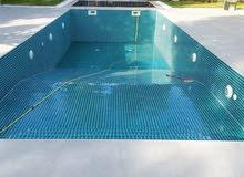 French swimming pool 4m×3m