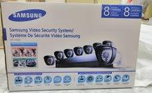للبيع 8 كاميرات مراقبه سامسونج CCTV  العلامة التجارية الجديدة