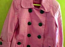 SPORT AND LOISIR pink coat for girls
