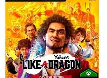 لبيع yakuza like a dragon Xbox series x USA New steelbook edition