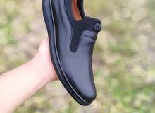أحذية طبية جلدية