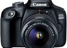 كاميرة احترافية كانون 4000  D