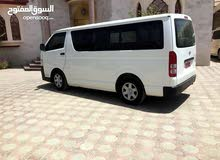 Manual White Toyota 2011 for rent