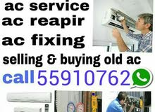 sale & buy second hand Ac window & spilit typc Repair & servicing moving And fix