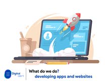 تصميم المواقع الالكترونية وتطبيقات الهاتف المحمول - Web & mobile app Development