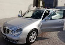 Silver Mercedes Benz E 200 2007 for sale