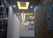 شقة للبيع متشطبة سوبر لوكس في حدايق الاهرام البوابة الرابعه بها اسانسير شارع سكن