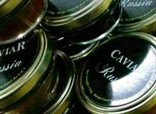 لدينا جميع انواع الكافيار والعسل الابيض النادر
