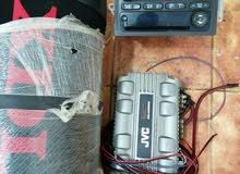 مضخم صوت +سماعه مضخم +مسجل سياره شفروليه بليزر الصوت ممتاز عن تجربه